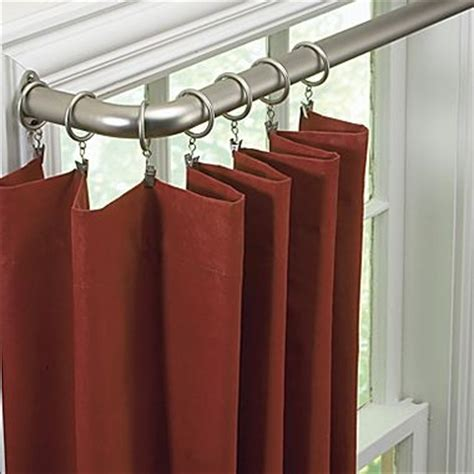 sliding curtain rods sliding door curtain rod ideas i love pinterest