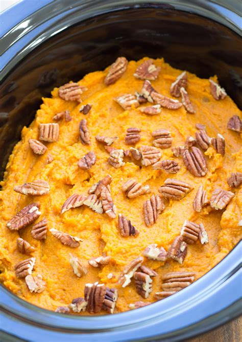 Kris Cooker healthy cooker sweet potato casserole kristine s