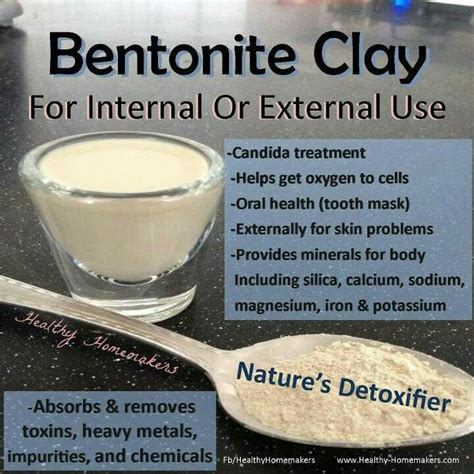Bentonite Clay Skin Detox by Pin By Earth S Living Clay On Using Clay