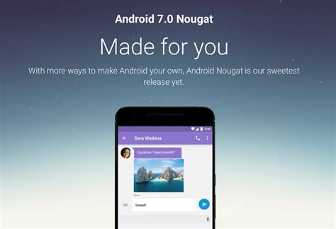Android Update 7 0 by Android 7 0 Nougat Update Gizmo Bolt Exposing