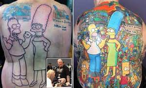 cartoon tattoo melbourne daily mail online australia home page daily mail online