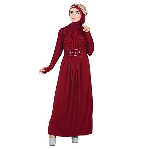 Jual Gamis Cantik baju gamis warna merah