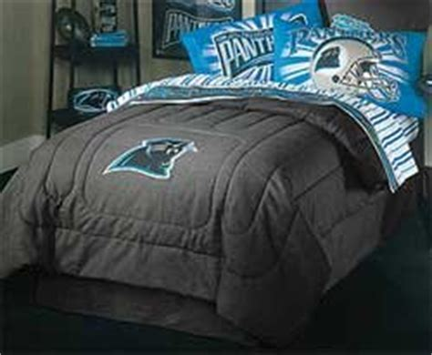 panthers bedding nfl carolina panthers denim football bedding comforter