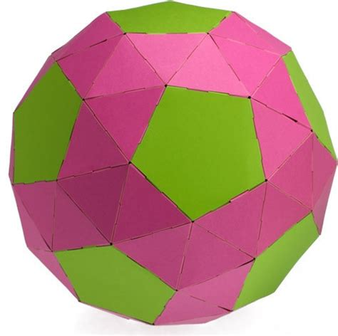 Paper Snub Dodecahedron - 17 best images about snub dodecahedron 33335 on
