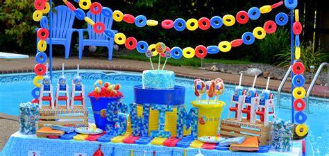 pool party ideas pool party birthday theme birthday express