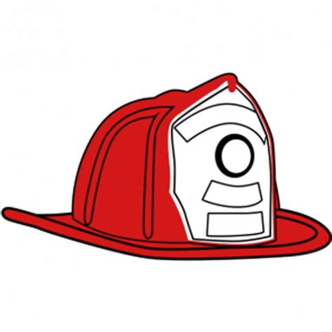 fire truck clipart fireman helmet pencil and in color