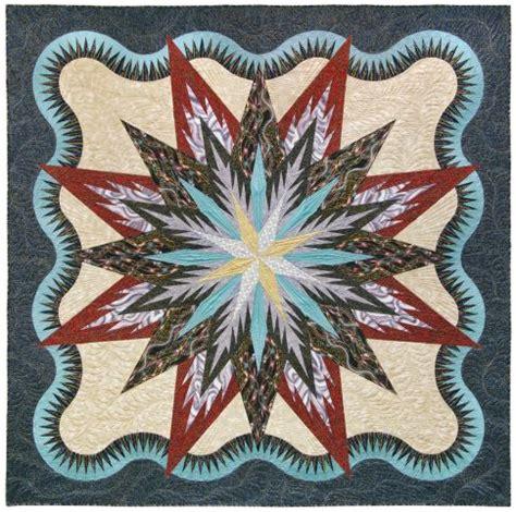 Feathered Quilt Pattern Free by Lumina Feathered Designer Pattern Robert Kaufman