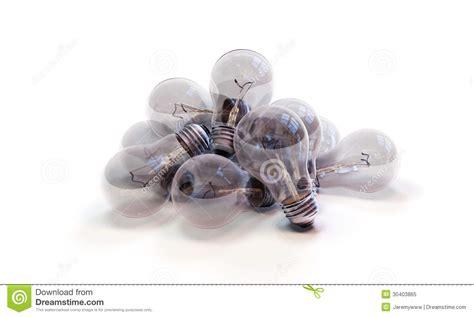 Glass Light Pile Of Incandescent Lightbulbs Stock Image Image Of