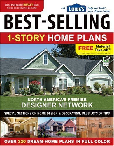 best home design books 2014 lowe s best selling 1 story home plans lowe s book