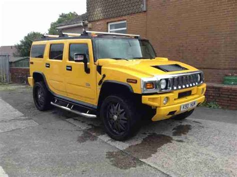 hummer for sale hummer 2003 yellow car for sale