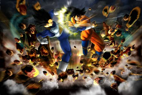 wallpaper dragon ball bergerak dragon ball z backgrounds wallpaper cave