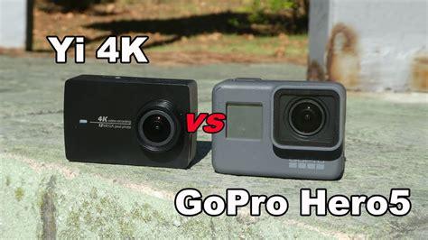 Gopro 5 Black 4k Gopro 5 yi 4k vs gopro 5 black doovi
