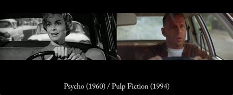 quentin tarantino visual film references comparisons of quentin tarantino s visual references and