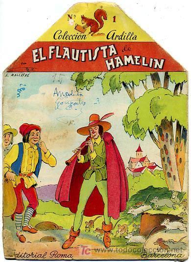 libro el flautista de hamelin cuento el flautista de hamelin editorial rom comprar libros antiguos de cuentos en