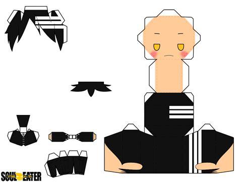 Soul Eater Papercraft - the kid by piercepapercraft on deviantart