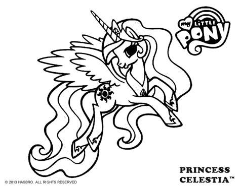 Princess Celestia Coloring Page Coloringcrew Com Princess Celestia And Coloring Pages