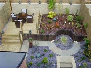 Small Sloped Garden Design Ideas Small Sloped Garden Design Ideas Photo 1 Decoration Home Ideas