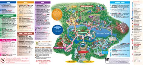 map of animal kingdom a peek inside my disney world binder 100 free downloads