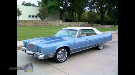 Chrysler New Cars by 1978 Chrysler New Yorker Cars Tuned Cars Usa