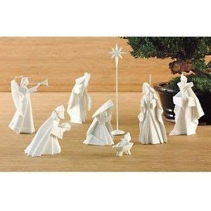 Porcelain Origami Nativity Set - 17 best images about origami on origami paper