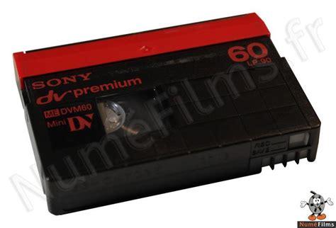 cassette minidv reconnaitre les cassettes vhs video8 digital8 et minidv