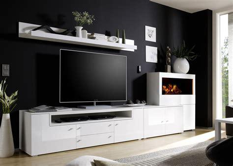 tv schrank mit kamin wohndesign ideen