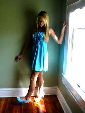 hannah m charlotte russe little blue dress charlotte