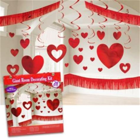 Valentines Day Room Decor by S Day Room Decorating Kit Windy City Novelties
