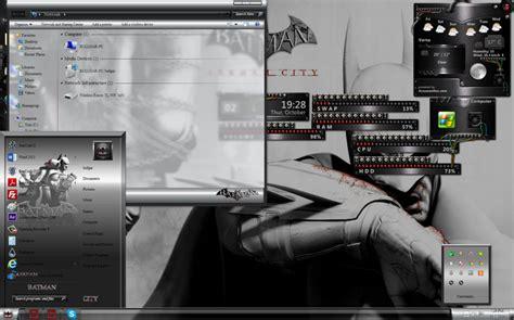 download theme windows 7 batman batman arkham windows 7 theme download