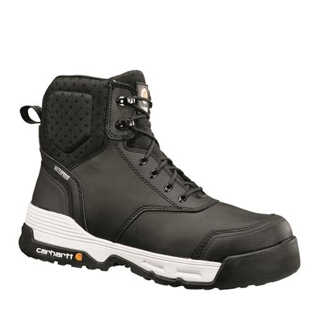 mens composite toe work boots carhartt s waterproof 6 quot composite toe work