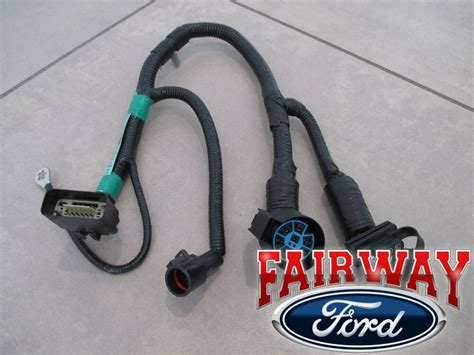 oem genuine ford  pin trailer tow wiring