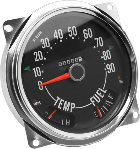 jeep speedometer crown automotive 914845 speedometer cluster 0 90 mph for
