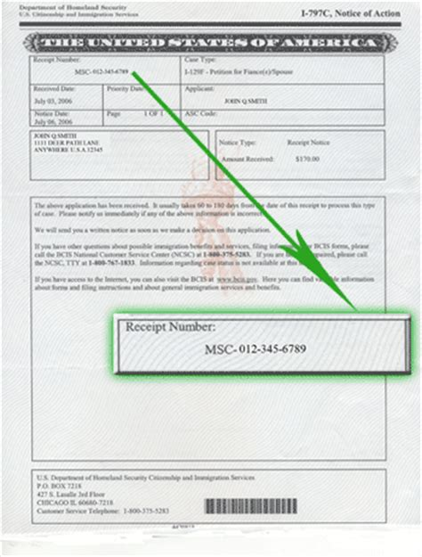 national visa center phone number uscis receipt number what does it and checking status visajourney