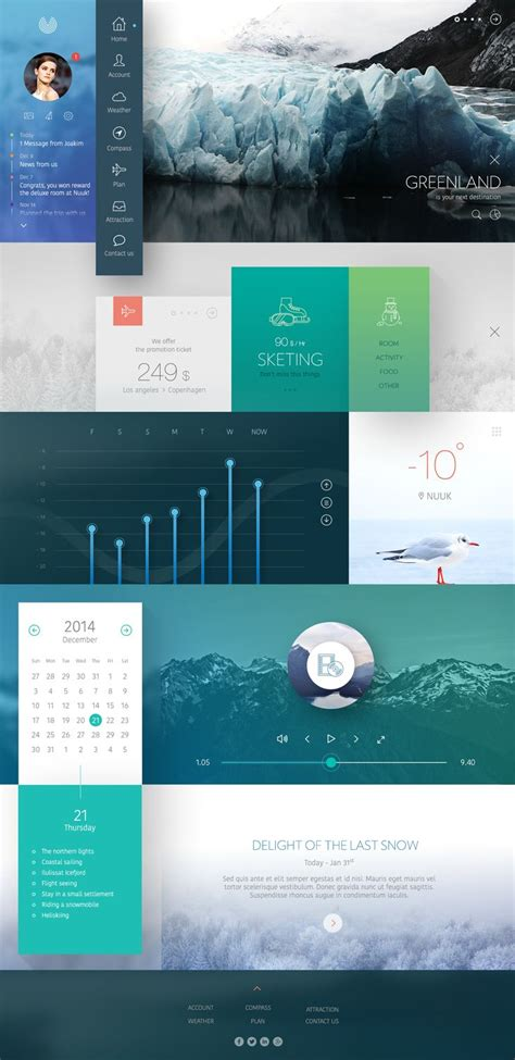 layout inspiration 2015 25 best ideas about dashboard design on pinterest