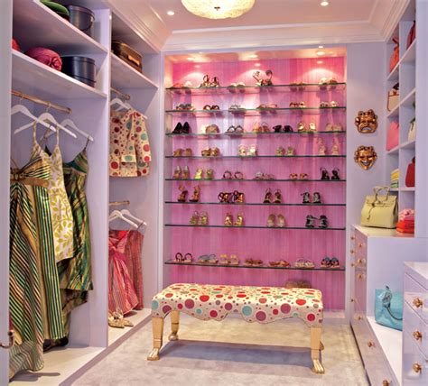 The Blue Closet by Beautiful Modern Blue Pink Shelving Walk In Closet Design For