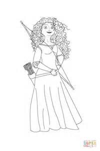5 Best Images Of Merida Free Printables Brave Princess Disney Princess Merida Coloring Pages Printable