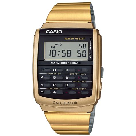Casio Calculator Ca506 Original casio s collection retro digital calculator alarm