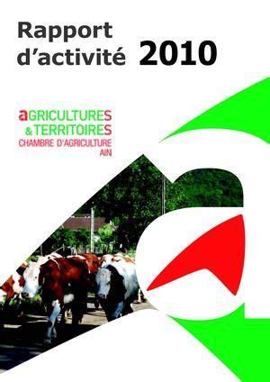 chambre agriculture 71 calam 233 o rapport d activit 233 2010 chambre d agriculture