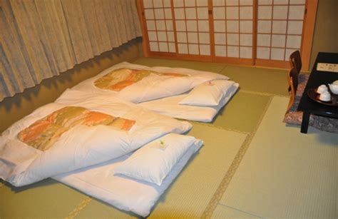 sleeping futon my first stay at a ryokan food and sleep at home with