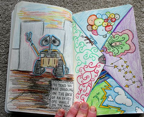 sketchbook every artist was an size color your own cover books colors want wreck this journal image 274238 on
