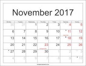 Word Report Template november 2017 calendar with holidays calendar printable free