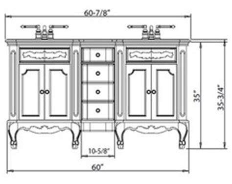 Standard Bathroom Counter Height Vessel Sink Bathroom Vanity Height