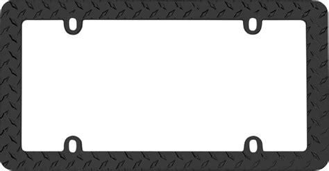 gestell mit teller black plate license plate frame cru30850