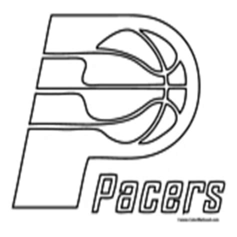 indiana pacers coloring page basketball coloring pages nba coloring pages