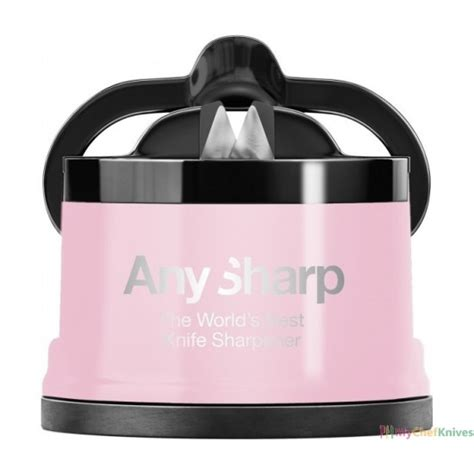 pro sharp knife sharpener anysharp pro manual knife sharpener pink colour
