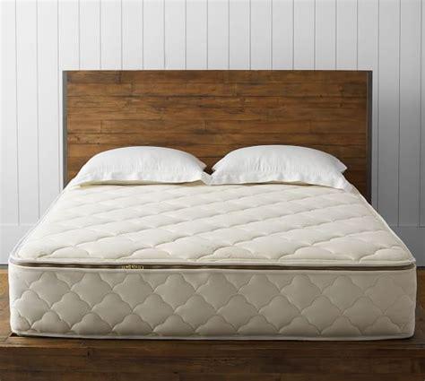 naturepedic 174 organic mattress pottery barn