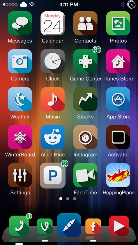 dock themes for iphone cydia dockflow ios 7 add brilliant new animations to your