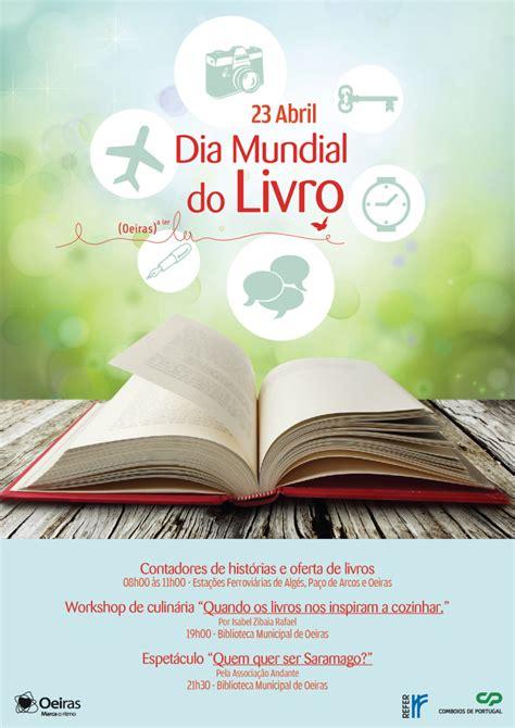 libro dos dias de mayo dia mundial do livro bibliotecas de oeiras surpreendem utentes dos comboios not 237 cia bad