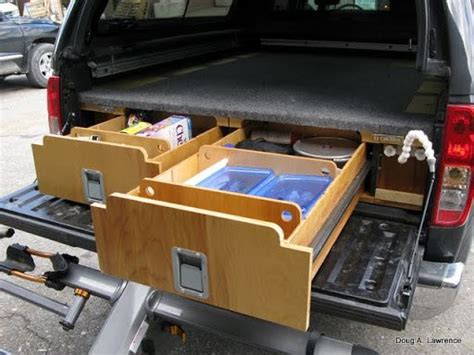 truck bed drawers plans 17 best images about diy car vault truck bed drawers on