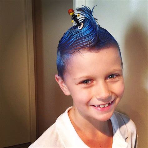 crazy hair ideas for 5 year olds boys great idea for crazy hair day for the boys spray hair